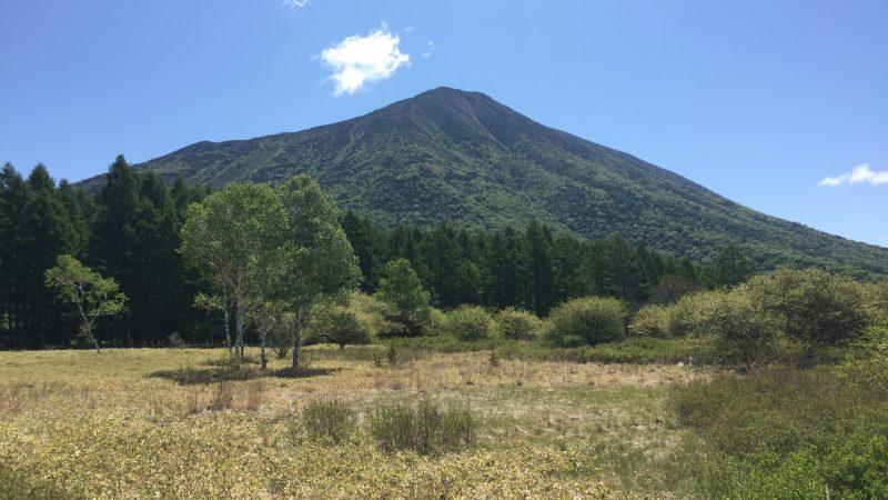 戦場ヶ原からの男体山